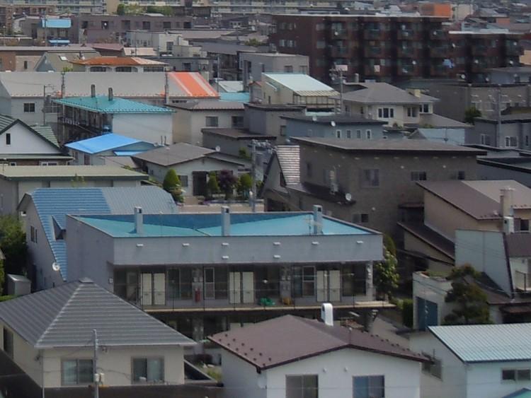 日本の住宅街並み