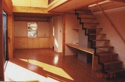 明るいコアリビングの家画像04
