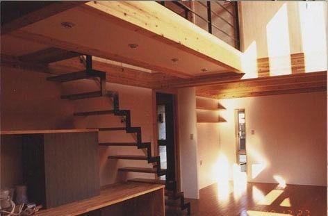 明るいコアリビングの家画像06