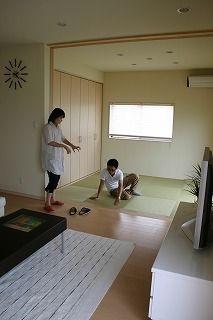 家族の時間の密度を上げる家 広陵町O邸画像06